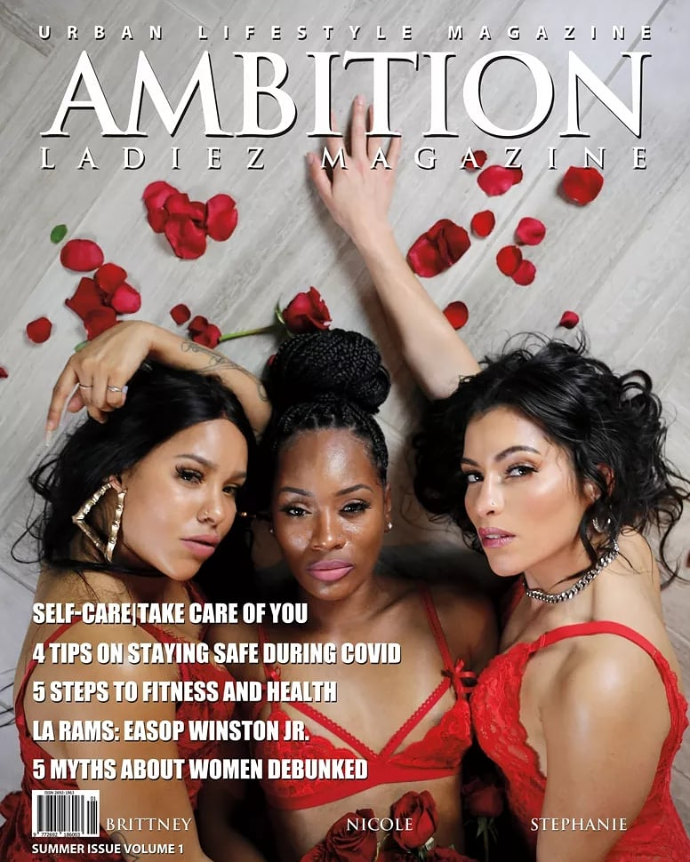 Ambition Ladiez Urban Lifestyle Magazine Summer Edition #1